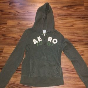 Aeropostale Button up Hoodie